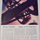 1950 Dietzgen Mt Palomar ad