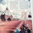 1953 Dietzgen Delaware Bridge ad