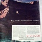 Dietzgen Company Mountain ad