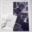 Cranes Fine Papers Craftsman ad