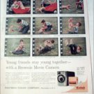 Kodak Brownie Movie Camera Puppy ad
