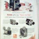 1962 Kodak Cameras Christmas ad