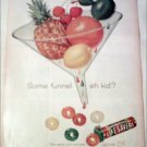1960 Five Flavor Lifesavers Funnel ad