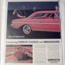 1964 American Motors Rambler Classic & Ambassador Lineup car ad