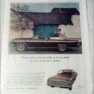 1965 American Motors Rambler Ambassador convertible car ad