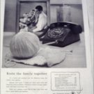 1956 Bell Telephone Knits ad