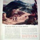 Dietzgen Company Road ad