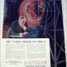 Dietzgen Company Radar ad