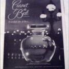 1961 Carnet de Bal Perfume ad