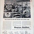 1951 Dayton Rubber Company ad