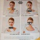 1963 Kodak Instamatic Camera Woman ad