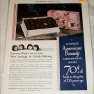 1931 Lowneys Chocolates ad