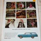 1965 American Motors Rambler Classic 770 4 dr stationwagon car ad