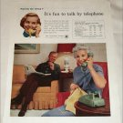 1958 Bell Telephone ad