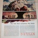 Dietzgen Company Link In Chain ad
