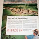 Dietzgen Company Dig the River ad