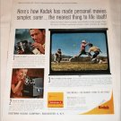 1963 Kodak Electric 8 Zoom Camera ad