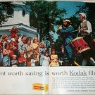 1963 Kodak Film July 4th ad
