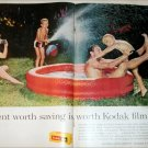 1963 Kodak Film Pool ad