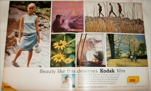 1964 Kodak Film Beauty ad