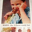 1957 Mars Bar ad #1