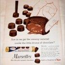 1958 Mars Marsettes Chocolates ad #1