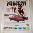 1965 Esso Sweepstakes ad #1 featuring Marlin