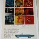 1965 American Motors Rambler Ambassador 990 convertible car ad