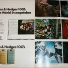 1968 Benson & Hedges 100's Cigarette Sweepstakes ad