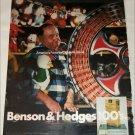 1971 Benson & Hedges 100's Cigarette Carnival ad