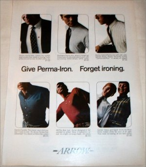 Arrow Perma-Iron Shirt ad