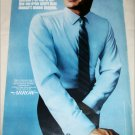 1967 Arrow Perma-Iron Blue Shirt ad