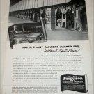 H. K. Ferguson Company Paper Plant ad