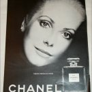 Chanel No 5 Perfume ad featuring Catherine Deneuve