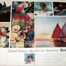 1964 Kodak Film Good Times ad