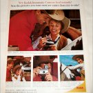 1965 Kodak Instamatic Camera Cowboy ad