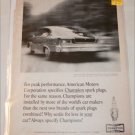 1965 Champion ad featuring American Motors Rambler Marlin