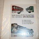 1965 American Motors Lineup car ad