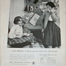 Bell Telephone Roomate ad