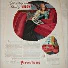 1943 Firestone Velon ad