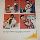 1965 Kodak Boy & Dog ad