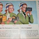 1965 Kodak Instamatic Movie Camera ad