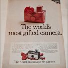 1967 Kodak Instamatic 104 Camera Christmas ad