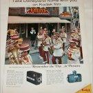 1967 Kodak Cameras Disneyland ad