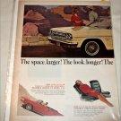 1965 American Motors Rambler Classic 770 2 dr ht car ad yellow & black