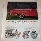 1965 American Motors Rambler Classic 770 convertible car ad
