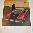 1965 American Motors Rambler Marlin car ad