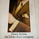 1968 Arrow Madison Avenue Collar Shirt ad tan