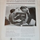 Bell Telephone Communications Consultant ad