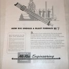 McKee Engineering Blast Furnace ad